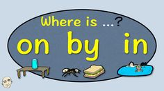 Where is it? | On By In | Prepositions | English Speaking Practice | ESL...