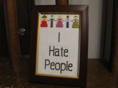 This cross-stitch. | The 27 Most Pessimistic Things To Ever Happen