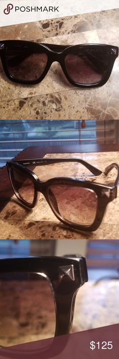 b01b76bd240 Unisex Valentino sunglasses Black unisex Valentino sunglasses. No case.  Great condition  I will