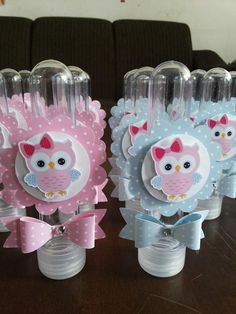 Owl Shower, Owl Kids, First Communion Favors, Diy And Crafts, Paper Crafts, Baby Favors, Baby Owls, Craft Work, Baby Shower Parties