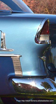 '55 Chevy in 2-tone Blue by Dean Ferreira
