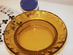 VTG 70s Del Webb Vegas amber ashtray by dagutzyone on Etsy, $8.00