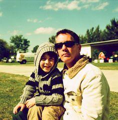 Me & Josef. Shot with Lomo 200 color negative film.