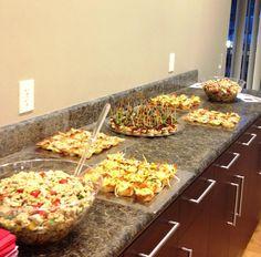 Appetizers for Fresno Junior League Meeting