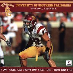 USC Bookstores - 2014 USC FOOTBALL WALL CALENDAR  Clay Matthews on the front cover of next year USC Calendar
