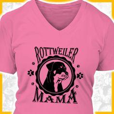 Rottweiler Mama  COOLES SHIRT, EXKLUSIVES MOTIV, LUSTIGER SPRUCH! Unser lustiges Hunde Sprüche Shirt / Hoodie ist das ideale Geschenk für Hundehalter, Hundebesitzer, Frauen & Frauchen!  Hund / Hundeshirt / Funshirt / Hundesprüche-Shirt / Spruch-Shirt / Motiv-Shirt / T-Shirt Motive / Langarmshirt / Ladyshirt / Top / Sweatshirt / Hoodie / Kapuzenshirt / Kapuzenpullover / Damen Hoodie / Pullover Bluse