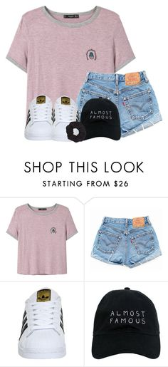 """""""weekly update!"""" by madiweeksss ❤ liked on Polyvore featuring MANGO, Levi's, adidas, Nasaseasons and Forever 21"""