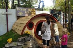Hobbit Holes at King Richard's Faire pinned with Pinvolve - pinvolve.co