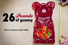 #PriceTalk #프라이스톡 Overview   Need an epic centerpiece for your next party? Look no further than the Party Gummy Bear. This 26-pound candy beast ensures that your shindigs have no equal.   Imagine the shock of your party goers when they realize that your 32,000-calorie gummy bear also features an integrated one-liter serving bowl! Serve punches, candies, or even more gummy bears from within this seventeen-inch-long confection.  The Party Gummy Bear is hand made in the USA, features a 1-year…