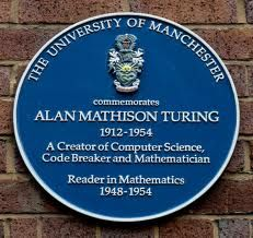 Alan Turing - was a British mathematician, logician, computer scientist and philosopher.  Turing is widely considered to be the father of theoretical computer science and artificial intelligence