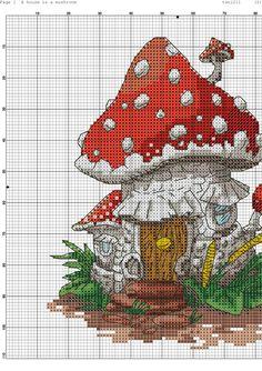 Photo Cross Stitch House, Cute Cross Stitch, Beaded Cross Stitch, Cross Stitch Charts, Cross Stitch Designs, Cross Stitch Patterns, Simple Embroidery, Hand Embroidery Stitches, Cross Stitch Embroidery