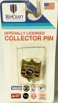 (TAS000444) - Wincraft Officially Licensed Collector Pin - Minnesota Vikings NFL