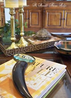 """""""Everyday"""" Tips and Ideas for How to Style a Coffee Table 