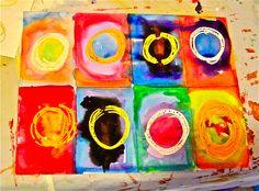 Pretty Kandinsky style - Art Junction