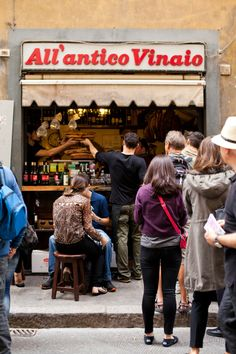 THE HOLY GRAIL SANDWICH / ALL'ANTICO VINAIO - the most amazing sandwich I ever ate!  Florence, Italy