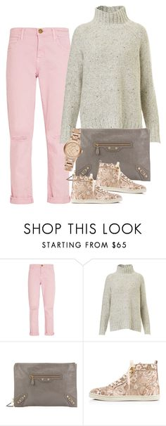 """""""Untitled #2793"""" by erinforde ❤ liked on Polyvore featuring Current/Elliott, Balenciaga, Christian Louboutin and Burberry"""