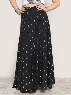 Many Moons Maxi Skirt - Gypsy Warrior