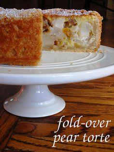 Tuesdays with Dorie: Fold-Over Pear Torte