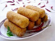Kroket Kentang Ayam - Mom and Dad grew up in the Dutch East Indies - fav food item!