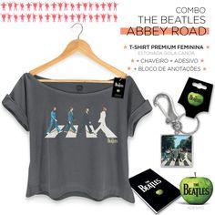 Super Combo Feminino The Beatles Abbey Road Colors #TheBeatles #bandUPStore #AbbeyRoad #Beatles