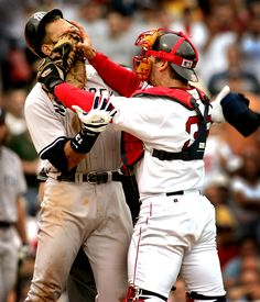 varitek & arod fight.  love this moment!!
