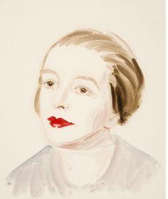 Annie Kevans - portrait of Sonia Delaunay