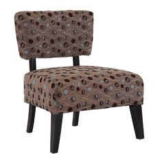 Found it at Wayfair - Delano Accent Chair in Brown Sphere