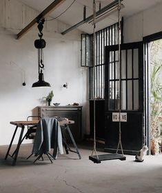 Our weekly dose of interior design wanderlust Interior Design Inspiration, Interior Styling, Lighting Design, Wardrobe Rack, Lyon France, Studio, Furniture, Instagram, Spaces