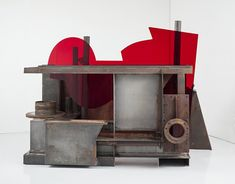 This major exhibition, in partnership with Yorkshire Sculpture Triangle, celebrates and commemorates the extraordinary career of Sir Anthony Caro Leeds Art Gallery, Bennington College, Hepworth Wakefield, Yorkshire Sculpture Park, Anthony Caro, Painted Slate, Steel Paint, 11. September, July 1