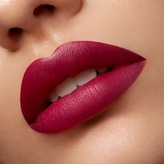 Eye of Horus Velvet Lips, Siren Black Cherry - Mysterious dark plum tone, sure to intrigue! This lipstick is cruelty free, vegan, natural and paraben free. Red Lipstick Makeup, Lipstick Shades, Lipstick Colors, Lip Colors, Pink Lipsticks, Glossy Lips, Matte Lips, Lip Makeup Tutorial, Lipstick Designs