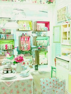 Cath Kidston I would be in heaven in here :D