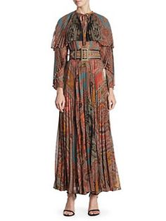 Etro - Paisley Maxi Dress