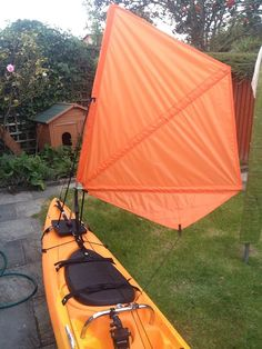 My DIY Kayak Sail - Yakdiver Blog