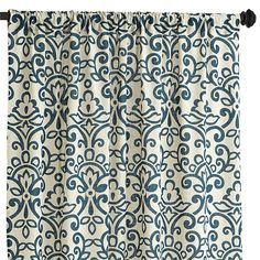 "Sofie Damask Curtain - Spruce 96"" $34.95"