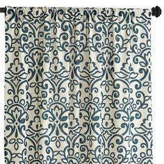 "Sofie Damask Curtain - Spruce 96"" $34.95"