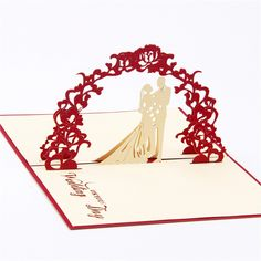 Find More Paper Crafts Information about 10pcs 3D Kirigami Wedding Invitation Card Greeting Gifts Folding Lover Pattern Pop Up Origami Paper Diy Craft handicraft,High Quality paper craft picture frame,China gift nurse Suppliers, Cheap gift beer from Handicraftsman on Aliexpress.com