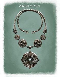 Amulet Mara, Ray Lederer on ArtStation at http://www.artstation.com/artwork/amulet-mara