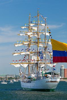 Tall Ships in Boston by Susan Cole Kelly, via Flickr