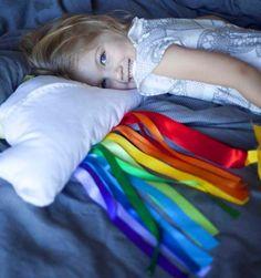 Diy Pillow Shams: DIY Cloud  Ribbon Rainbow Decorative Pillow DIY Pillow Shams DIY Home DIY Decor