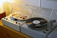 """Braun - Vintage Reel To Reel And Turntable"" !... http://about.me/Samissomar"