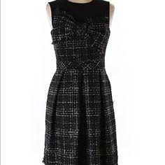Trina Turk plaid shift dress Trina Turk plaid dress. Dark green and grey plaid . a-line skirt. Length is 34 in.  Bust is 16 in measured flat across. New with tags Trina Turk Dresses Midi