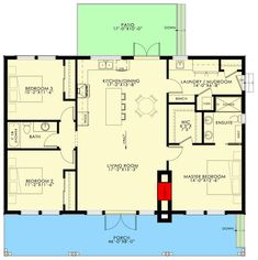 Contemporary House Plans, Modern House Plans, Small House Plans, Small Rustic House, Modern Lake House, Rustic Cottage, Lake House Plans, Cabin Floor Plans, Diy Cabin