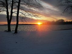 Sunset on Lake Maxinkuckee, Culver Indiana