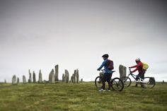 Cycle through the Outer Hebrides.