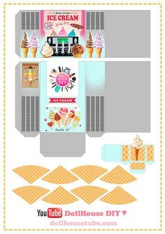 Image result for Doll Food Printables DIY