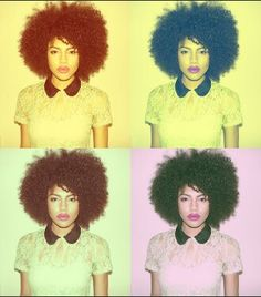 Natural Hair Styles Pictures #NaturalHair Samio
