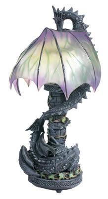 Courtship - Dragon Fantasy Lamp | Scarebears Realm