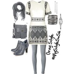Gray Style #MyStyleSuSh #Gray #graystyle by sussysoche on Polyvore featuring polyvore, moda, style, Topshop, T By Alexander Wang, maurices, GUESS, Gucci and Terre Alte