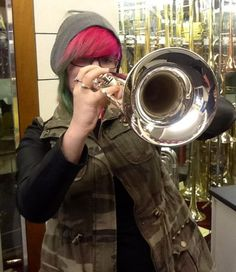 New trumpet for her 18th