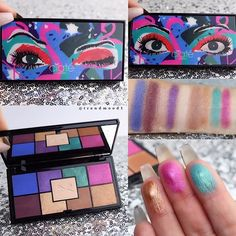 1/3 The inside #TheFunPalette from the NEW #EyeshadowPalette Collection by @ciatelondon   will be available TOMORROW online @Sephora  The perfect size for traveling. The packaging is super fun with winking fun eyes, just move it around!!  Includes: 9 shades. The formula feels smooth, with a blendable texture. The center shade can be used to highlight the under brow bone / neutralise eyelid shade $35  Please Follow us on Periscope & Snapchat  'Trendmood' for some inside fun with #C...